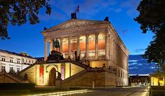Get more information about the Alte Nationalgalerie on Hostelman.com #Germany #museum #travel #destinations #tips #packing #ideas #budget #trips