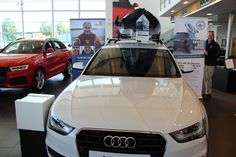 Channel Kayaks promotion at Bristol Audi, with a donation to the RNLI for every purchase made.
