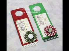 Wine tag Tutorial-Tag bottiglia vino-SCRAP Tutorial-Christmas Packaging-Natale Fai da te - YouTube