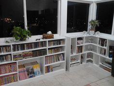 Ruangan santai dengan baca buku
