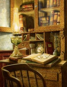 (49) Twitter  helen warlow @HWarlow 3/26/17 This is my final of three after tea. I love the maleness of this room no frills or furbelows. Doug Knutson artist