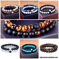 Stone Beads, Glass Beads, Boys Girl Friend, Make A Gift, Black Glass, Bracelet Making, Gifts For Friends, Natural Stones, Nba