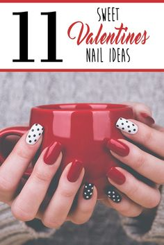 Fun & creative nail designs! #nailart -- You can rock them even if it#s not Valentine season