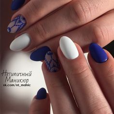 Нетипичный Маникюр Nail Swag, Shellac Nails, Nail Polish, Uñas Diy, Finger, Super Nails, Almond Nails, Nail File, Blue Nails