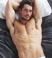 Here's David Gandy Modeling His New Underwear Line: The Daily Details: Blog