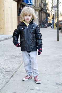 "<b>Kids fashion has come a long way since purple sweat suits...</b> These stylin' boys and girls represent the best and the brightest of the growing ""kid's fashion blog"" scene."
