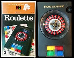 Travel Roulette Game Epoch Vintage Set 70s James by SpaceModyssey