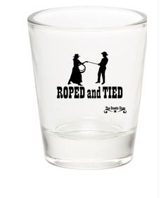 Rope and Tied Western Theme Shot Glass - The Rustic Shop