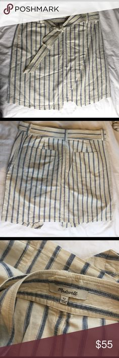 Madewell Portside Skirt Never been worn. Madewell Skirts Mini
