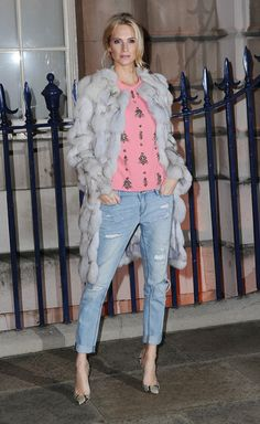 she's our london fashion week jean queen.