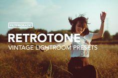 RetroTone Vintage Lightroom Presets by FilterGrade on @creativemarket