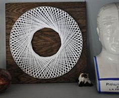 Inspiration for the String Art Project class at the Palatine Library on Sunday, June 26, 2016