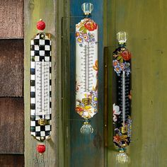 Flower Market Thermometer
