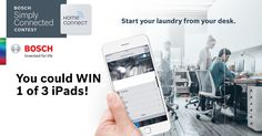Bosch Simply Connected contest Simply Home, Bosch, Inventions, Phone, Life, Pageants, Technology, Desk, Walk In