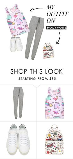 """""""My 1st set"""" by livingtothefullestandfun ❤ liked on Polyvore featuring Icebreaker, Pusheen, Yves Saint Laurent and Anya Hindmarch"""