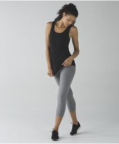 Essential yoga pants made with softness and stretch flatter the figure with curved contrasting side panels and mesh lower legs.The wide, high waistband offers a * You can find more details by visiting the image link.