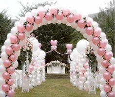 Beautiful entrance for a wedding.