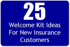 25 Welcome Kit Ideas For New Insurance Customers