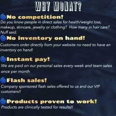 Just a few reasons why you'll love MONAT!! Get with me!!