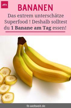 #BANANE #REZEPTE #GESUNDHEIT #ABNEHMEN #WIRKUNG #BANANEN Die Wirkung der Banane auf deine Gesundheit, beim Fitness und kann sie Heißhunger stillen? Mit Bananen abnehmen? Das Bananen Superfood! Blutzuckerspiegel konstant halten mit Bananen? Depressionen und Ängst vorbeugen durch Bananen? Krämpfe vermeiden mit Bananen? + leckere Bananen Rezepte, die du schnell und einfach nachmachen kannst (Smoothies, backen oder auch selbstgerechtes Eis) Alle Tipps aus meiner Coaching Praxis. ... siehe Blog. Superfood, Healthy Snacks, Banana, Smoothies, Fruit, Blog, Life, Recipes, Holistic Nutrition