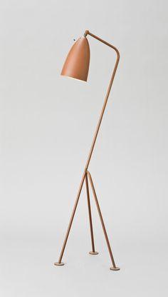 Floor Lamp, Model 831, circa 1949; manufactured circa 1949-1954, Greta Grossman (Sweden, active United States, California, Los Angeles, 1906-1999)
