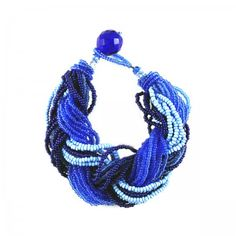Lacrom - Sharra Pagano - Bracelet Braided beads bracelet.