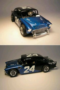 Tommy May  Scale model car