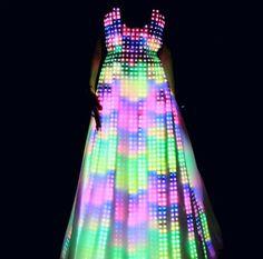 Glow in the dark dress
