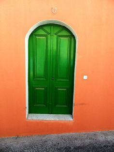 Green door - Symi