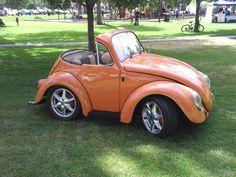 "Classic VW Bug | ... photoshop, was something people were calling the ""squashed bug"