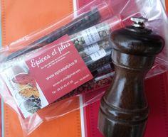poivre ... idée cadeau pour les cordons bleus ... 7 poivres et leur moulin à offrir à votre prochaine hôtesse (ou hôte)