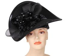daa24ff13f30a Women s Wool Dress Church Hats - E103A