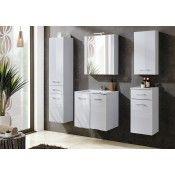 Comad VIENTO TERRA komplett fürdőszoba bútor, 60 cm-es CFP60D mosdóval, ajtós vienter60m