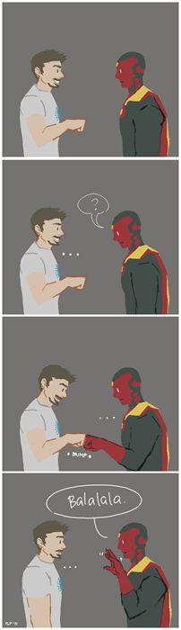 tony stark and vision big hero 6 - Google Search