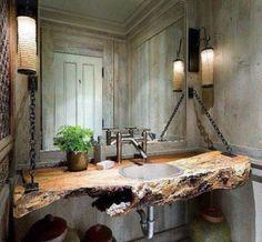 Nice ruined bathroom