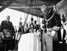 #Masonic Foundation Stone Ceremony     (http://www.flickr.com/photos/cantonviaduct/3379088084/)