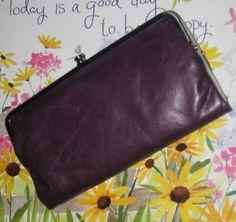 hobo international lauren double frame clutch amethyst purple new hobo - Double Frame Clutch Wallet