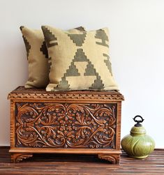 bohemian decorating style pictures | Vintage Kilim Pillow Cover - Bohemian Style Home Decor - Kilim Pillow ...