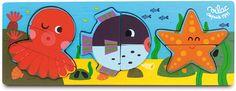 Sea 2-3-4 Puzzle #4615 #magicforesttoys #vilac