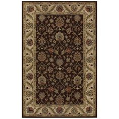 Dalyn Rugs Jewel JW33 Chocolate/Ivory Area Rug