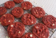 Thin and Crispy Red Velvet Cookies – A Beautiful Mess
