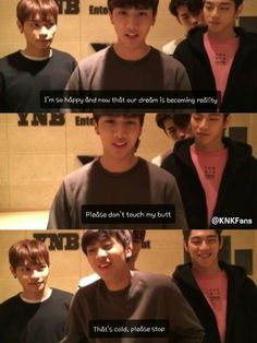 KNK || I really want to know who was touching Inseong's butt XD