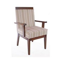 Cadeira de Jantar Elegance Com Braço - Wood Prime