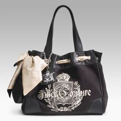 Juicy Couture black tote