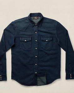Ralph Lauren Cotton Terry Western Shirt