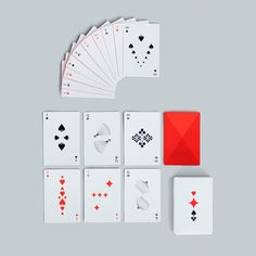 Graphic designer Clara von Zweigbergk has updated the classic playing card with new graphic icons for HAY. This original deck of cards makes an excellent gift, or keep it for yourself. Irina Jelavic, Harley Queen, Solitaire Games, Randy Cunningham, Modern Deck, Crooked Kingdom, Six Of Crows, Hisoka, Criminal Minds