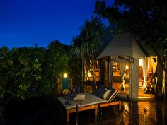 luxury tented accommodation ♥