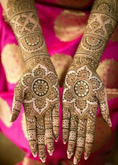 66 Ideas Bridal Henna Designs Mehndi Ideas For 2019 Henna Hand Designs, Mehndi Designs Finger, Wedding Henna Designs, Indian Henna Designs, Mehndi Designs Book, Mehndi Designs For Girls, Mehndi Designs For Beginners, Mehndi Design Photos, Mehndi Designs For Fingers
