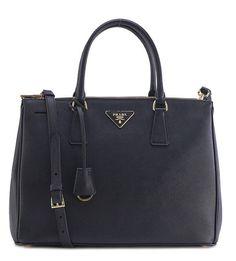 Prada Saffiano Leather Tote Black (Nero)