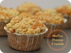 Muffins pomme crumble   Les Yeux plus gros que le Ventre